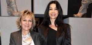 Nenella Impiglia e Luisa Corna all'inaugurazione