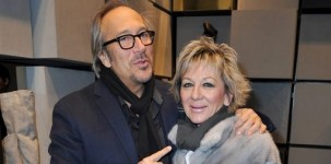 Marco Balestri e Nenella Impiglia all'inaugurazione