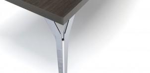 Dettaglio del tavolo Tea Time by Arik Levy per Molteni & C