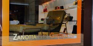 La boutique Gherardini in Via della Spiga 8, a Milano