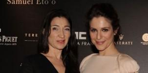 Elisabetta Franchi con Isabella Ragonese