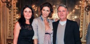 Malita e Massimo Rebecchi con Martina Colombari