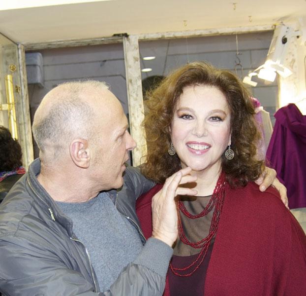 Martino Midali con Stefania Sandrelli