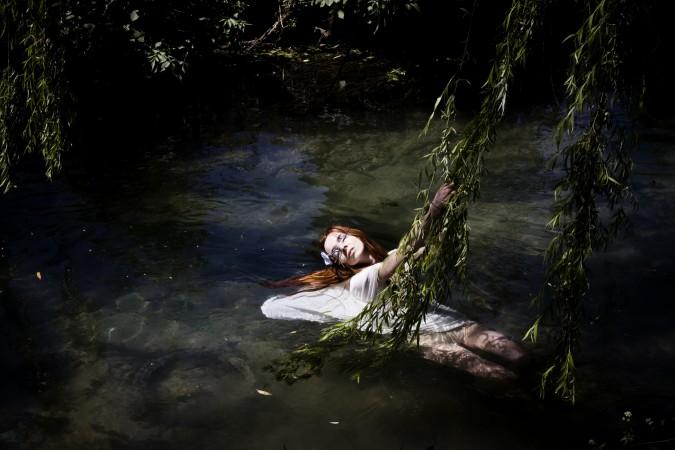 Contemporary Ofelia: stampa fotografica a colori
