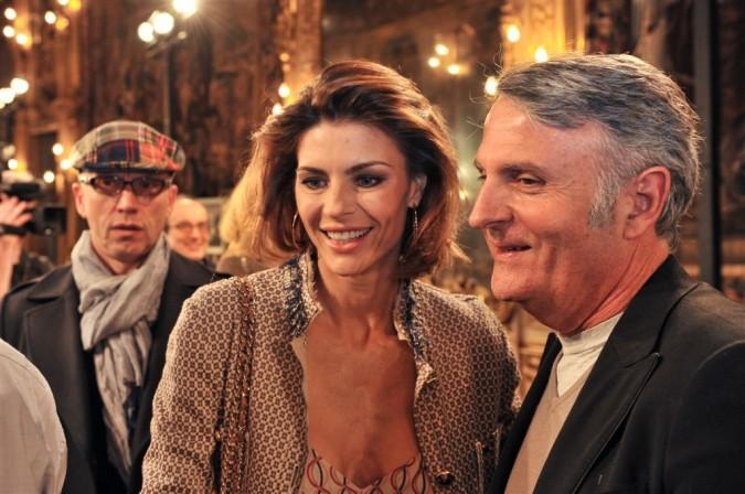 Massimo Rebecchi con Martina Colombari