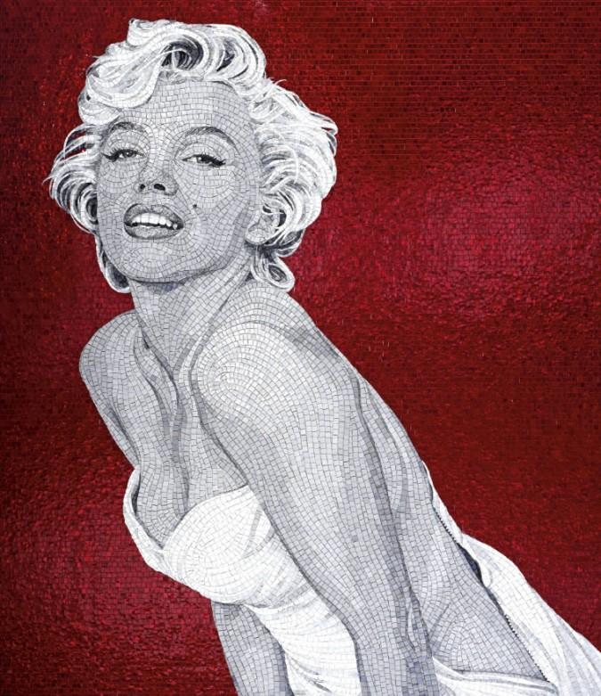 SICIS Marylin Monroe mosaico