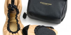 Trousse Ballerine Cocorose GOLD