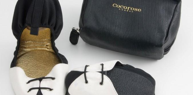 Trousse Ballerine Cocorose BLACK & WHITE
