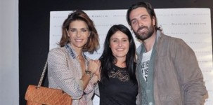 Martina Colombari, Malita Rebecchi e Luca Calvani