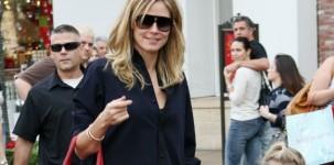 Heidi Klum indossa ROSABEL
