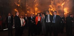 Letizia Moratti all'evento Cuorebosco. Courtesy Cosmit spa