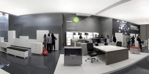 Salone Ufficio al Salone del Mobile 2011. Courtesy Cosmit spa