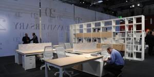 SaloneUfficio, Salone del Mobile 2011. Foto di Luciano Pascali. Courtesy Cosmit spa