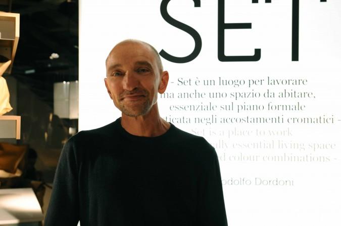 Il designer Rodolfo Dordoni