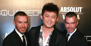 Dean & Dan Caten con Tony Li Dong Tian