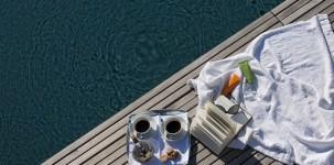 VIVERE colazione a bordo piscina