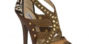 "La scarpa ""Vivienne"" by Jimmy Choo indossata dalla top model Heidi Klum"