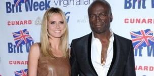 """La top model Heidi Klum – accompagnata dal fidanzato, il cantante Seal – ha scelto la scarpa """"Vivienne"""" per presenziare alla cena di gala offerta in occasione della Britweek a Los Angeles"""