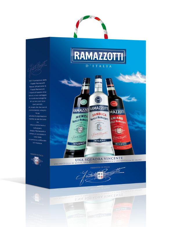 Brindisi tricolore firmato Ramazzotti