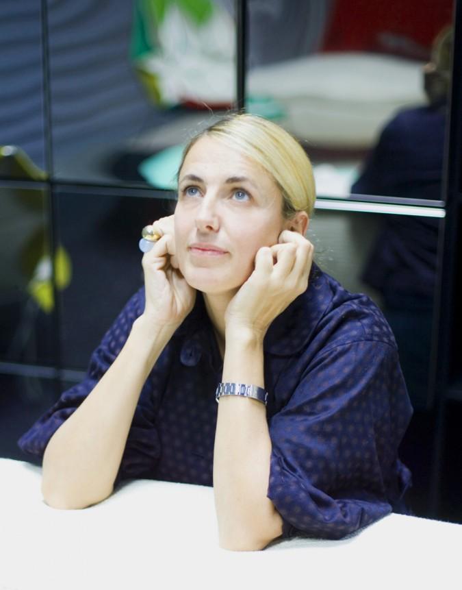 La designer Patricia Urquiola