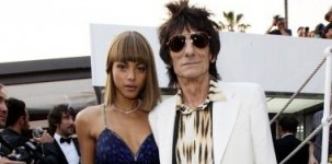 """Ron Wood indossa il modello """"Sloane"""" della collezione uomo Jimmy Choo per il party di Roberto Cavalli a Cannes"""