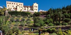I Giardini di Castel Trauttmansdorff/Merano. È vietata la pubblicazione e l'uso del materiale fotografico per fini commerciali.