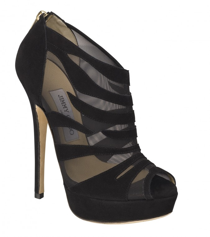 Kerfield Black suede by Jimmy Choo