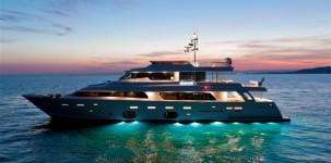 Mega yacht Navetta 33 Crescendo by Gruppo Ferretti