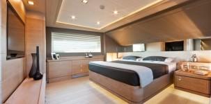 Mega yacht Navetta 33 Crescendo by Gruppo Ferretti: cabina principale