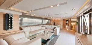 Mega yacht Navetta 33 Crescendo by Gruppo Ferretti: salone