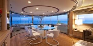 Mega yacht Navetta 33 Crescendo by Gruppo Ferretti: ponte superiore