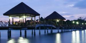 Tramonto a Port Dickson, Malesia