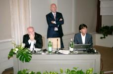 Da sinistra Gianni Zucconm, Marco Segato e Andrea Frabetti