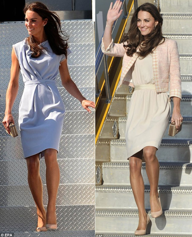 Kate Middelton indossa la scarpa Lovely di Jimmy Choo