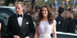Il principe William con la moglie Kate Middleton negli USA