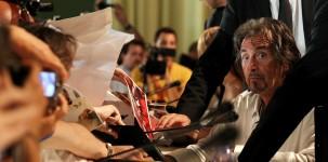 L'attore Al Pacino durante la conferenza stampa (foto ASAC)