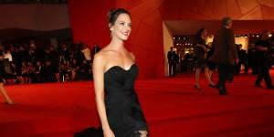 Asia Argento sul red carpet della Mostra del Cinema di Venezia (foto ASAC)