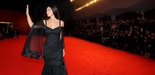 Monica Bellucci sul red carpet della Mostra del Cinema di Venezia (foto ASAC)