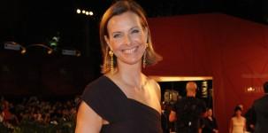 Carole Bouquet sul red carpet della Mostra del Cinema di Venezia (foto ASAC)