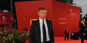 Vincent Cassel sul red carpet della Mostra del Cinema di Venezia (foto ASAC)
