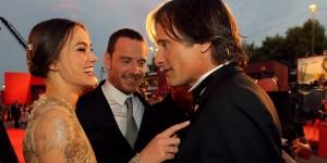 Keira Knightley e Viggo Mortensen sul red carpet della Mostra del Cinema di Venezia (foto ASAC)