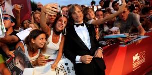 Viggo Mortensen sul red carpet della Mostra del Cinema di Venezia (foto ASAC)
