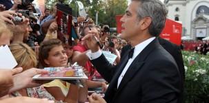 George Clooney sul red carpet della Mostra del Cinema di Venezia (foto ASAC)