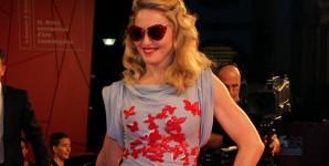 Madonna sul red carpet della Mostra del Cinema di Venezia (foto ASAC)