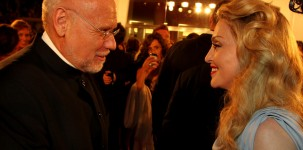 Madonna con Marco Mueller sul red carpet della Mostra del Cinema di Venezia (foto ASAC)