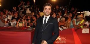 """I protagonisti del film """"W.E."""", diretto da Madonna, sfilano sul red carpet della Mostra del Cinema di Venezia"""
