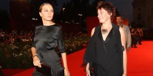 Valeria Golino sul red carpet della Mostra del Cinema di Venezia (foto ASAC)