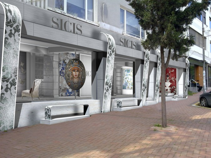 Preview dello showroom SICIS a Istanbul