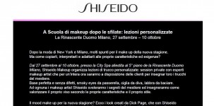 Shiseido: Invito
