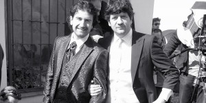 """Lo stilista Carlo Pignatelli firma gli abiti da cerimonia del film """"La peggior settimana della mia vita"""" con Fabio de Luigi e Alessandro Siani"""
